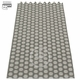 Noa Plastic Rug - Charcoal/Warm Grey, 2 1/4' x 3'