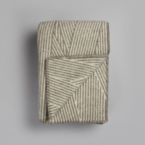 "Roros Tweed Noste Wool Blanket - 53"" x 79"""
