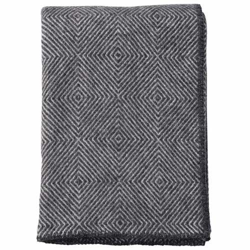 Klippan Nova Brushed Lambs Wool Throw, Stone