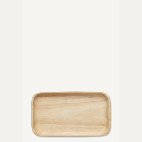 Marimekko Oiva Wooden Rectangle Plate - Set of 4