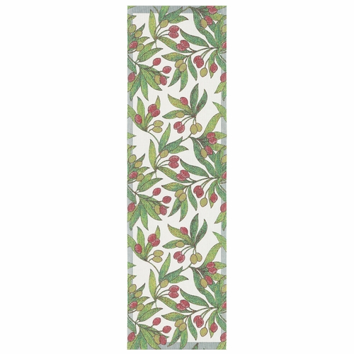 Ekelund Weavers Oliver Table Runner, 14 x 47 inches