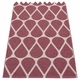 Otis Plastic Rug - Rose Taupe/Pale Rose, 2 1/4' x 10 1/2'