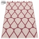Otis Plastic Rug - Rose Taupe/Pale Rose, 2 1/4' x 6 1/2'