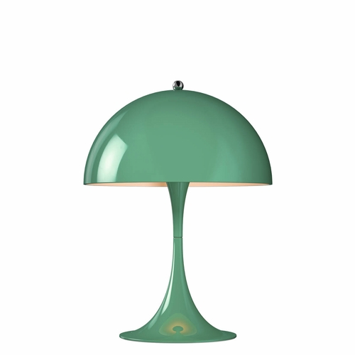 Louis Poulsen Panthella Mini Table Lamp, Blue-Green