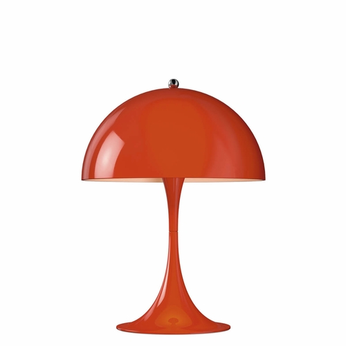 Louis Poulsen Panthella Mini Table Lamp, Red