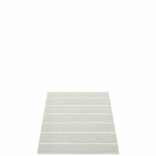 Pappelina Carl Plastic Rug - Sage/Seagrass, 2 1/4 x 3 Feet