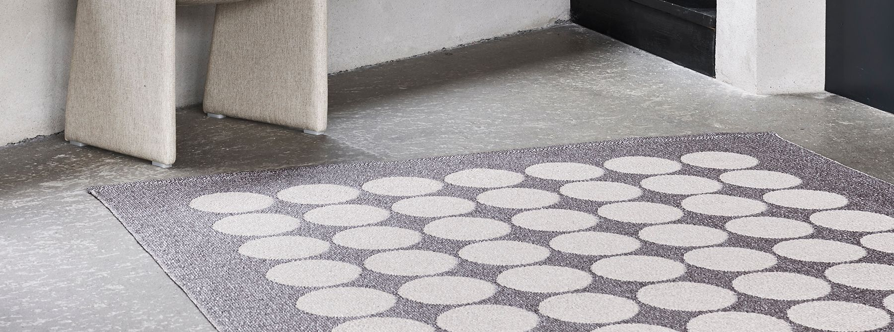 Pappelina Plastic Swedish Area Rug Collection