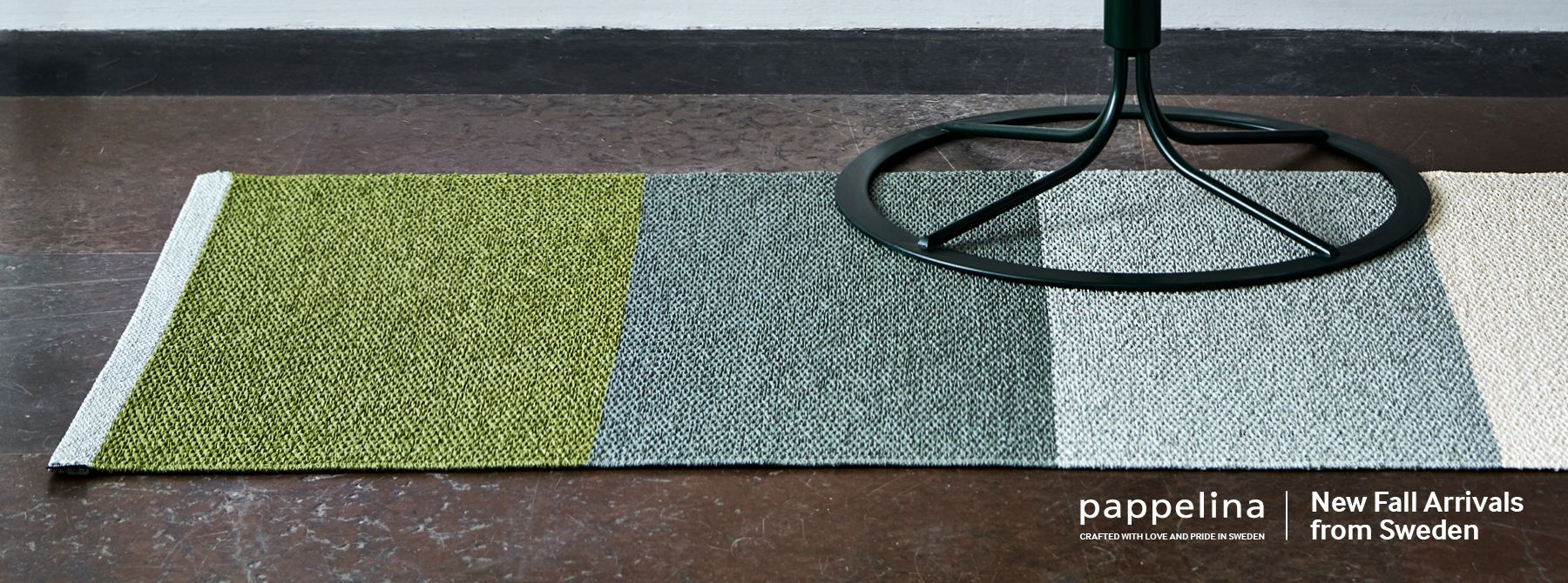 Pappelina Plastic Rugs - Made in Sweden