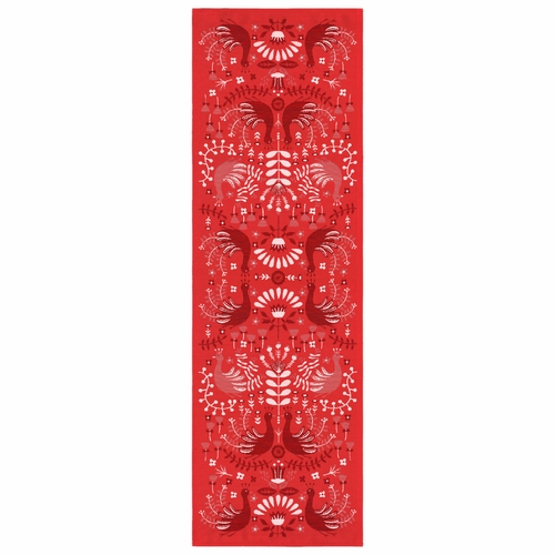 Peacock Table Runner, 20 x 59 inches