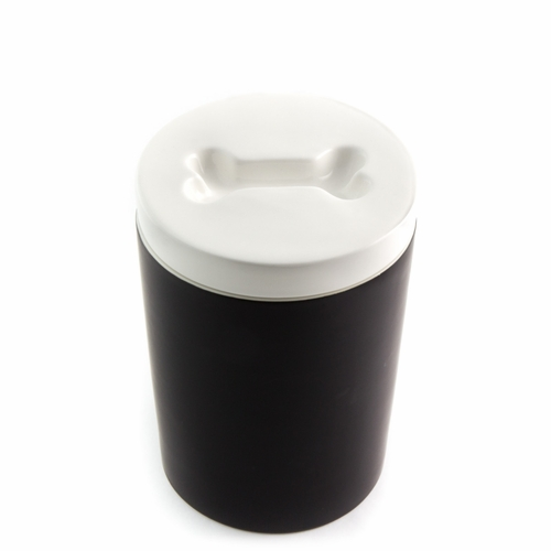 Pet Treat Jar - Black