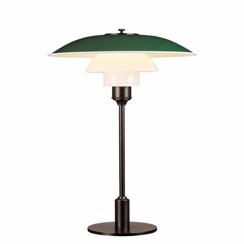 Louis Poulsen PH 3.5-2.5 Table Lamp, Green