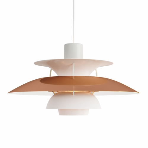 Louis Poulsen PH 5 Pendant Light, Copper
