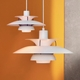 Louis Poulsen PH 5 Pendant Light, Hues of Orange