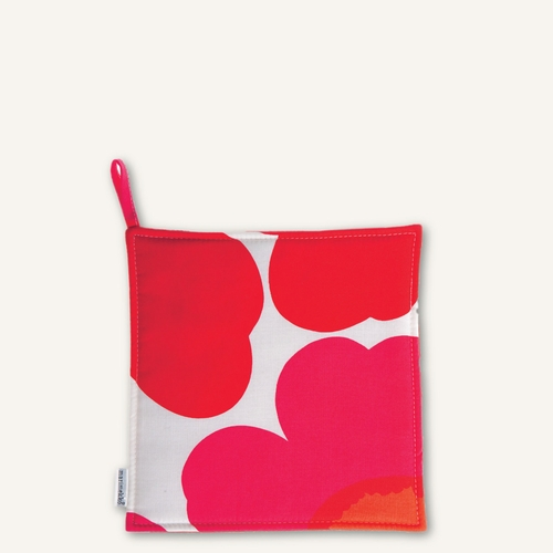 Marimekko Pieni Unikko Pot Holder, White/Red