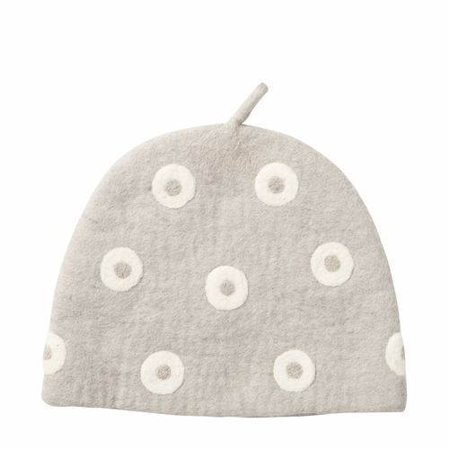 Klippan Rings Felted Wool Tea Cozy, Earl Grey