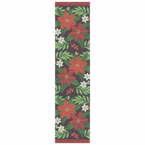 Ekelund Weavers Rodblom Table Runner, 14 x 55 inches