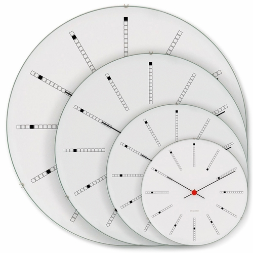 Rosendahl Arne Jacobsen Banker's Wall Clock - Four Size Options