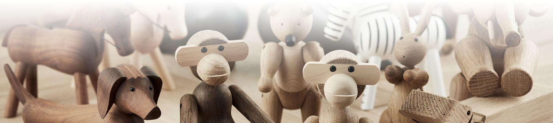 Kay Bojesen Wood Monkeys & Figures