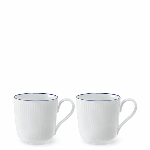 Royal Copenhagen Blueline Mug (9.5 oz), Set of 2