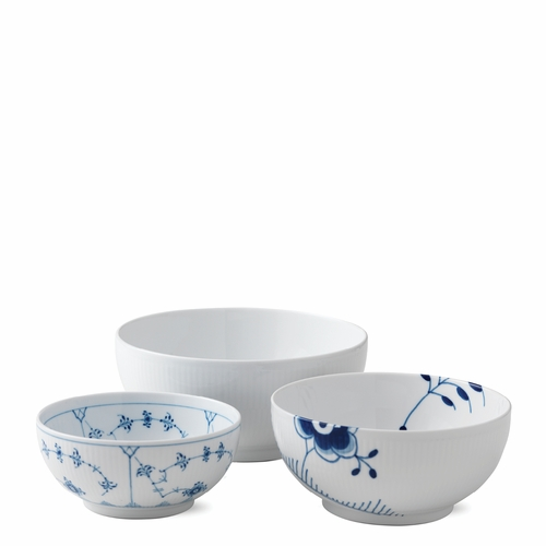 Royal Copenhagen History Mix Bowls, Set Of 3