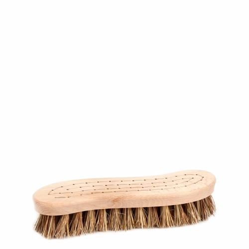 S-Shaped Scrubbing Brush with Union Blend Bristles