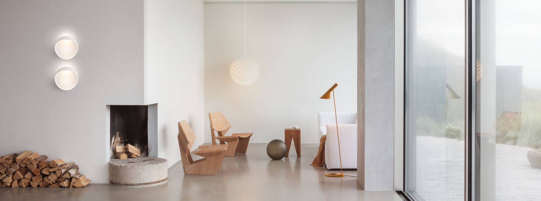 Scandinavian Floor Lamps - Quickship