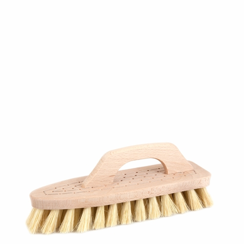 Iris Hantverk Scrubbing Brush with Handle, Tampico Fiber
