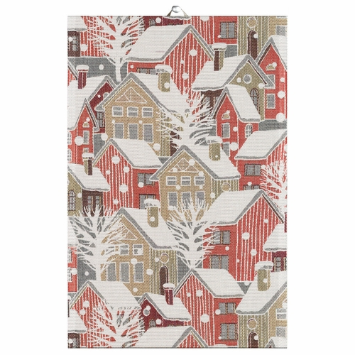 Ekelund Weavers Snostad Tea Towel, 16 x 24 inches