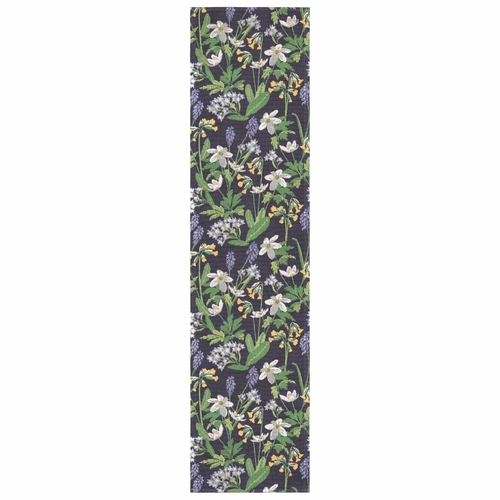 Ekelund Weavers Spring Table Runner, 14 x 55 inches