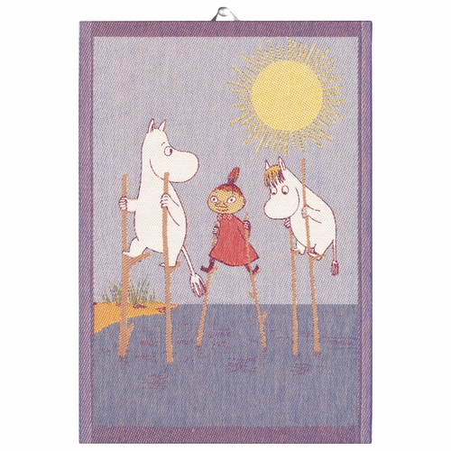 Ekelund Weavers Stilts Tea Towel, 14 x 20 inches