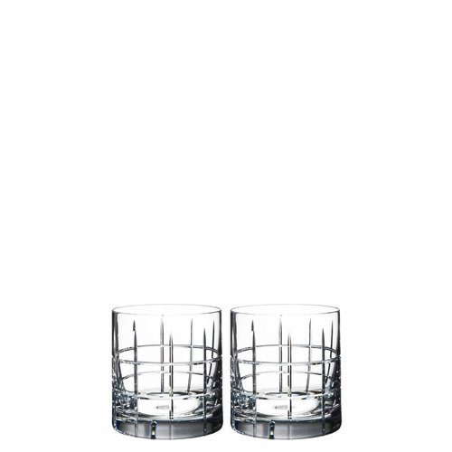 Orrefors Street Double Old Fashioned, Set of 2