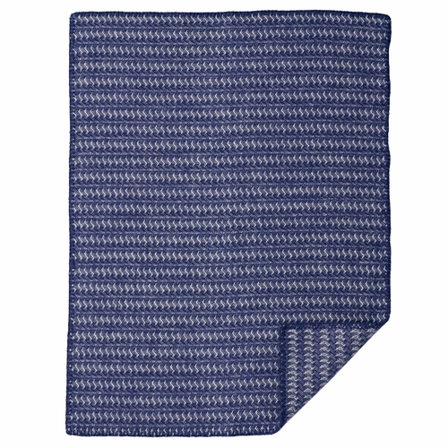Sumba Baby ECO Lambs Wool Blanket, Blue