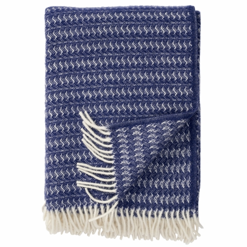 Sumba Brushed ECO Lambs Wool Throw, Ash Blue