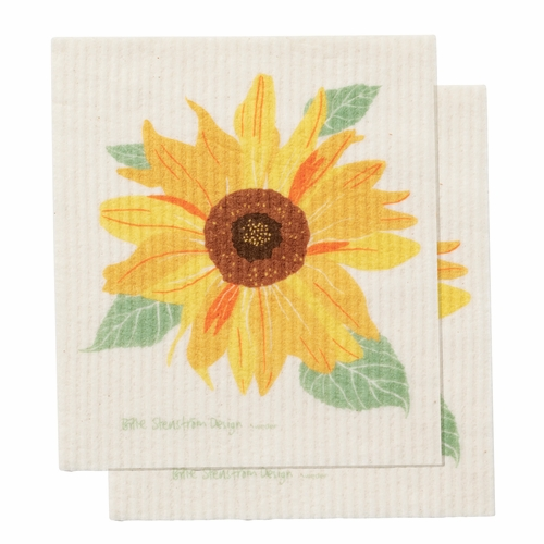 Klippan Sunflower Dishcloth, Set of 2