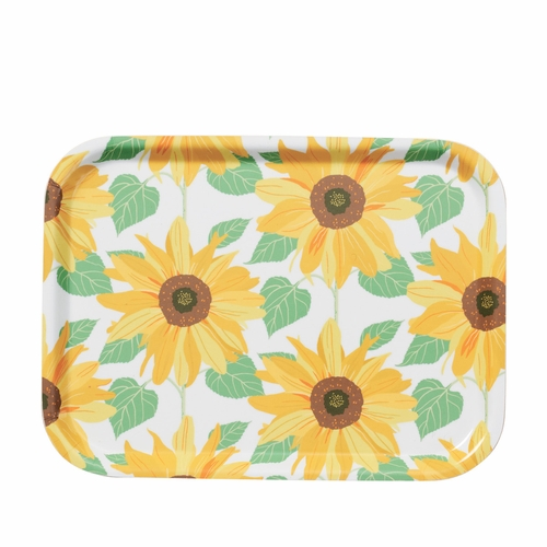 "Klippan Sunflower Rectangle Tray - 8"" X 10.6"""