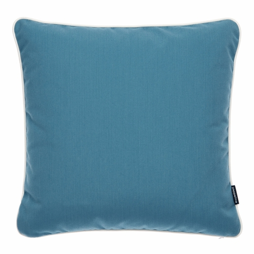 "Pappelina Sunny Petrol Outdoor Cushion - 17"" x 17"""