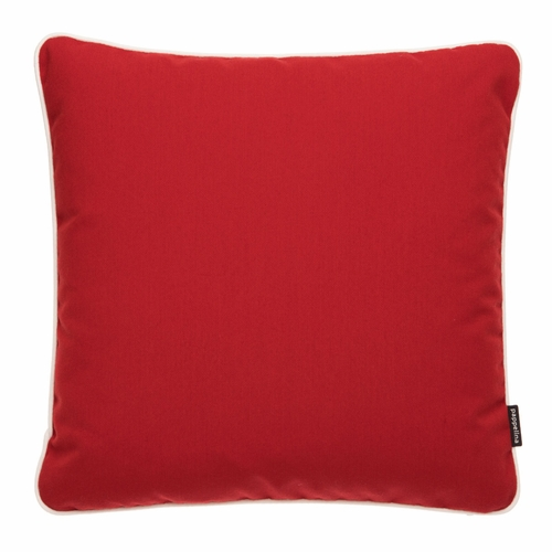 """Pappelina Sunny Red Outdoor Cushion - 17"""" x 17"""""""