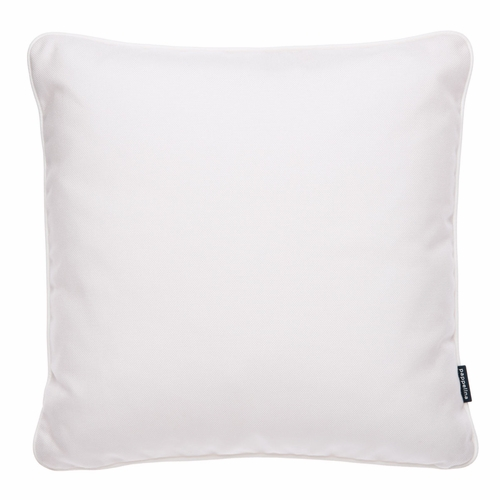 """Pappelina Sunny White Outdoor Cushion - 17"""" x 17"""""""