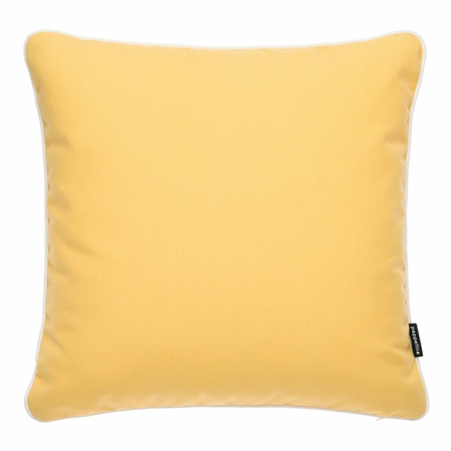 "Pappelina Sunny Yellow Outdoor Cushion - 17"" x 17"""