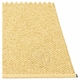Pappelina Svea Plastic Rug - Gold Metallic/Pale Yellow, 7 1/2' x 10 1/2'