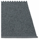 Svea Plastic Rug - Granite/Black Metallic, 6' x 8 1/2'