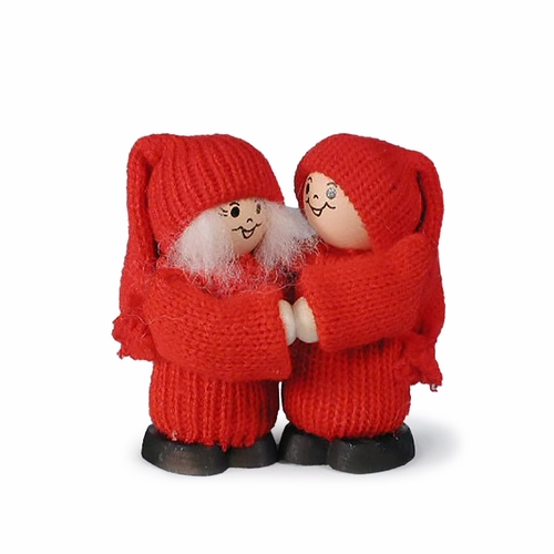 Swedish Tomte Couple - Made in Sweden