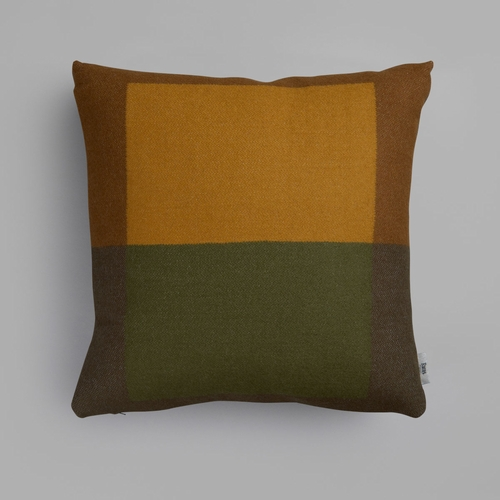 "Roros Tweed Syndin Wool Cushion, Moorland - 20"" x 20"""