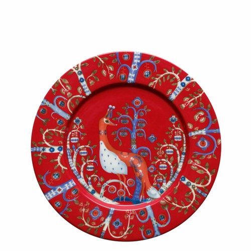 "Taika Salad plate 8.75"" - Red"