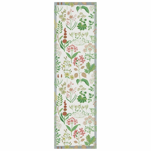 Ekelund Weavers Tappa Table Runner, 14 x 47 inches