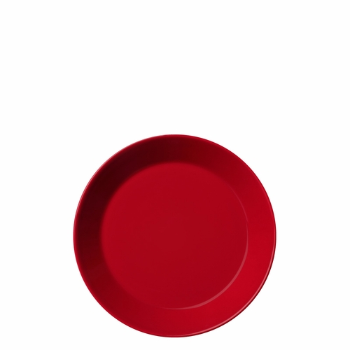 "Teema B&B Plate 6.75"" Red"