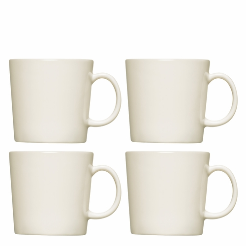 Iittala Teema Mug (10 oz), Set of 4 - White