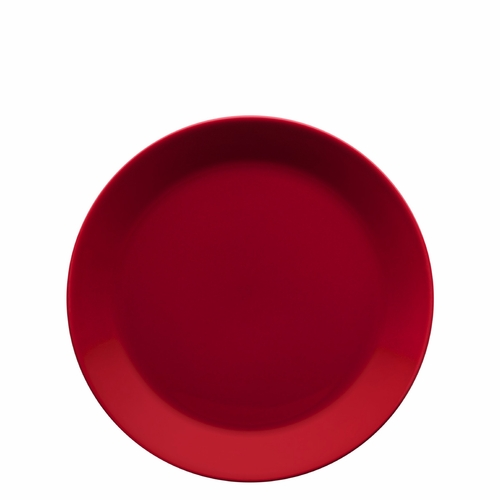 "Teema Salad Plate 8.5"", Red"