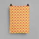 "Roros Tweed Tivoli Wool Baby Blanket, Yellow/Orange - 26"" x 39"""