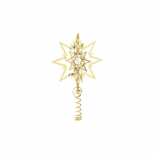 Tree Top Star, Gold Plated, Small